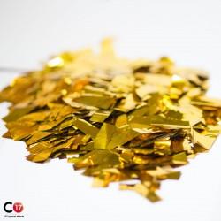 Confettis brillants 16x52mm Or au kilo