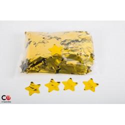 Confettis brillant Etoile 5cm Or