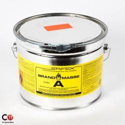 Pâte à feu d'intérieur Brandmass A 5L